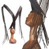 Marius Dansou des sculptures aériennes en fer et boisDes coiffes vertigineuses