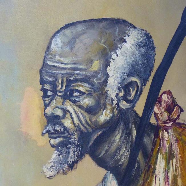 Portrait congolais touchant