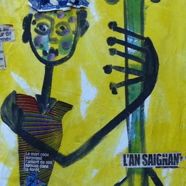 L'art du graff contemporain africain sur toile par Zeus GRAFF SUR TOILE PAR ZEUS