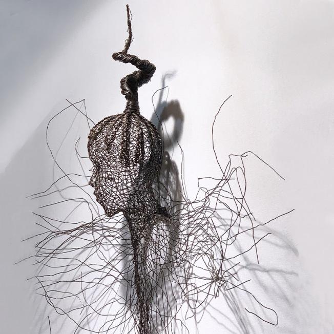 Une haute sculpture de Remy Samuz
